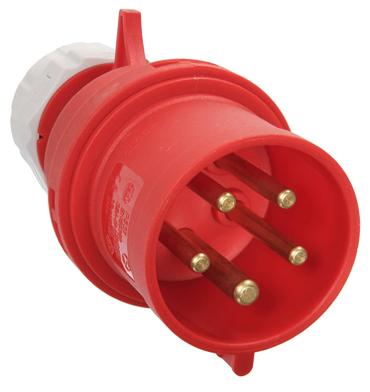 AS  –   Schwabe 60422  Power Plug CEE plug, 32  A, 5-pin, 6H, 400  V 32 A 400 V as-Schwabe