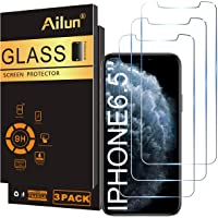 Ailun for Apple iPhone 11 Pro Max/iPhone Xs Max Screen Protector 3 Pack 6.5 Inch 2019/2018 Release Tempered Glass 0.33mm…