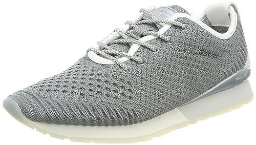 GANT Linda, Zapatillas para Mujer, Grau (Light Gray), 36 EU