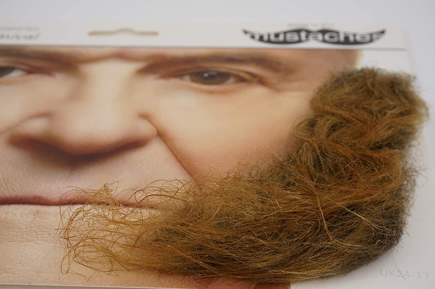 L Shaped Fake Mutton Chops Sideburns Mustaches Realistic