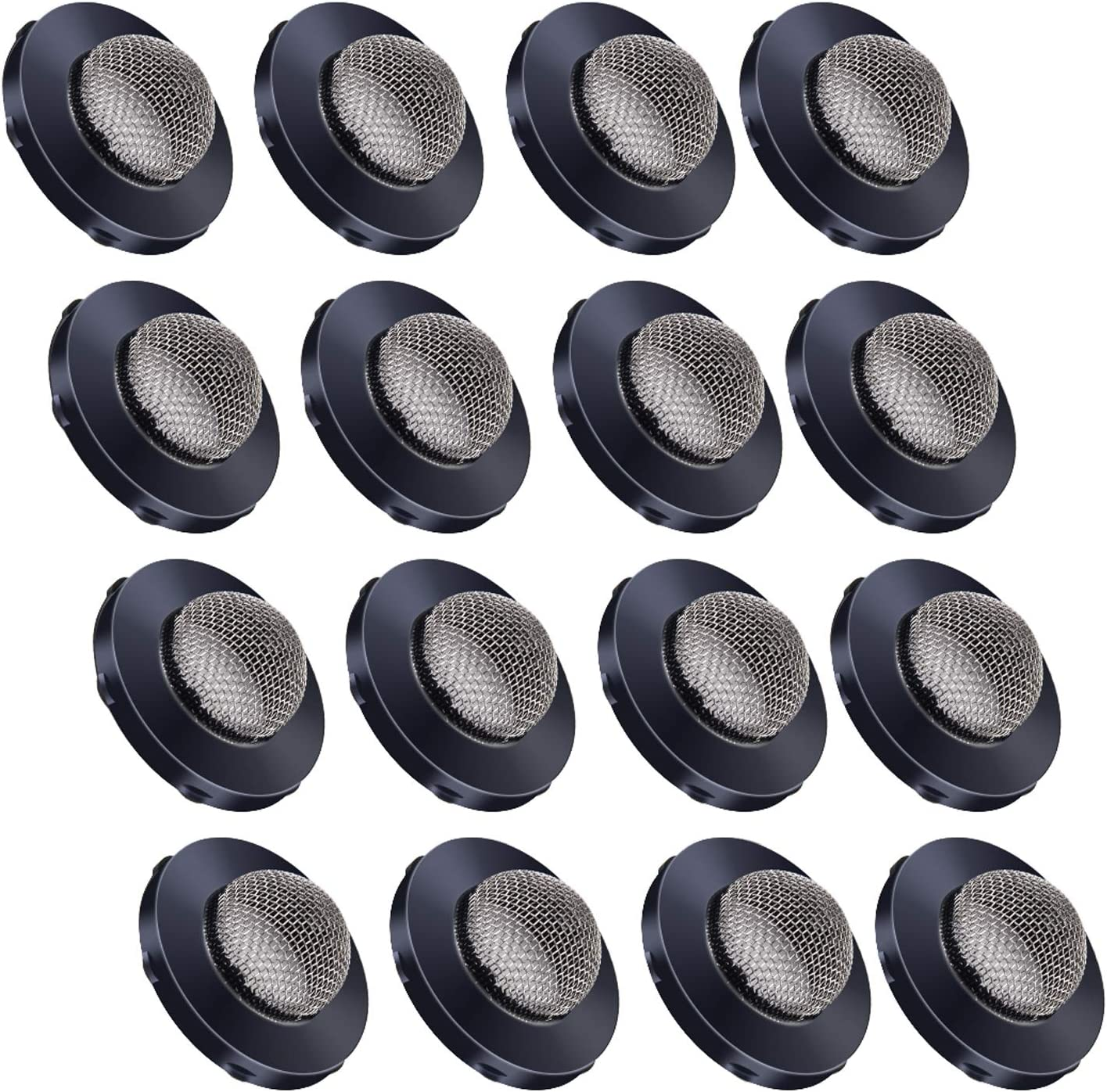 PAGOW 30pcs Hose Filter Washers, Stainless Steel Hose Screen Washers, Coupling Washer Hose Filters with Strainer, Fittings for 3/4 Inch Garden Hose Connector & Washing Machine