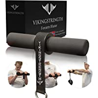VIKINGSTRENGTH Forearm Blaster- Fat Thick Grips Forearm Strength Excercise Equipment for Men and Woman. Thick Wrist…