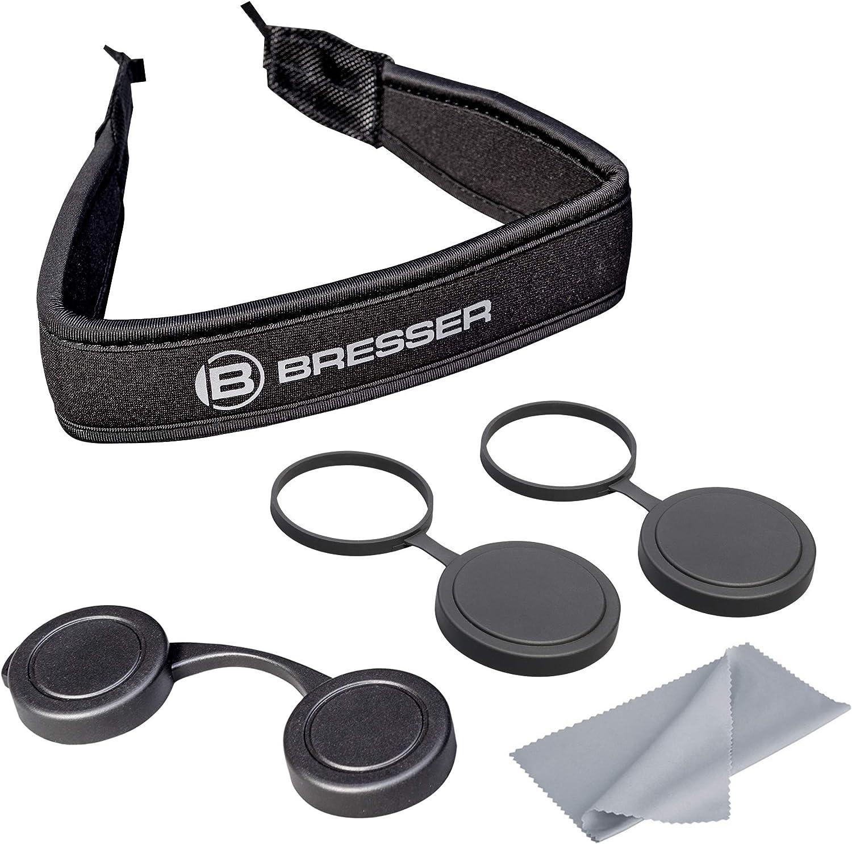 Bresser Fernglas Pirsch 8 x 34 mm wasserdicht mit hochwertiger Phasenverg/ütung und Stickstofff/üllung