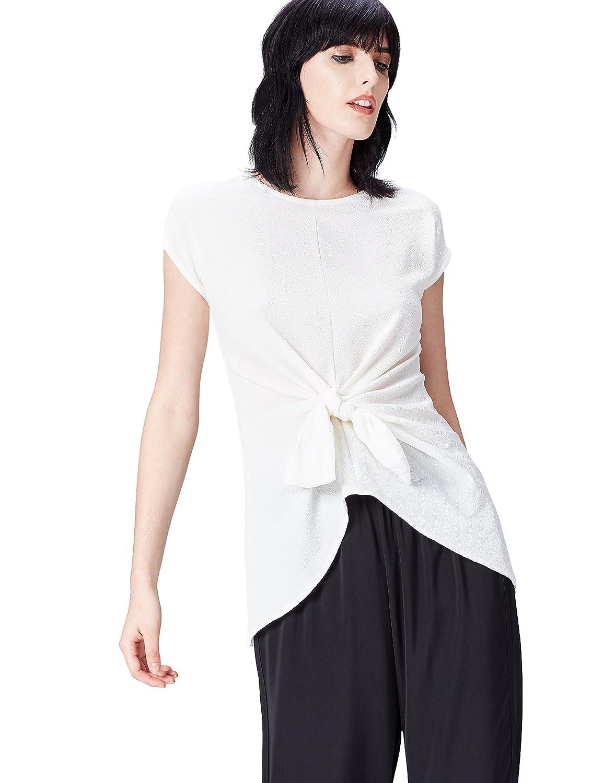 FIND T-shirt Girocollo Lunga Donna ZS 15827