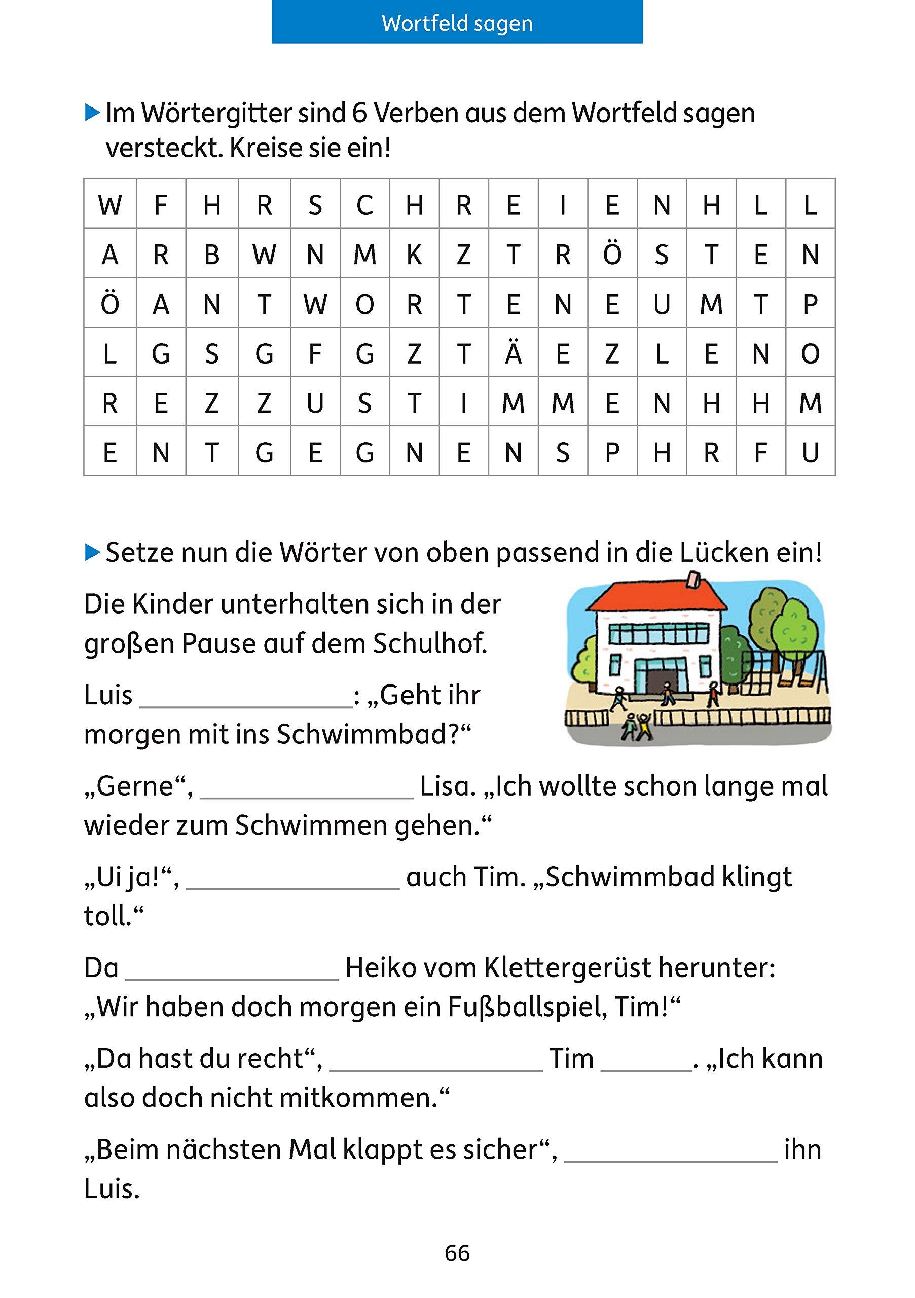 Quer Durch Die 4 Klasse Mathe Und Deutsch übungsblock