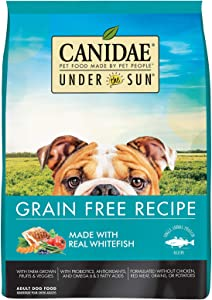CANIDAE Under The Sun Grain Free Adult Dog Food With Whitefish 23.5lbs