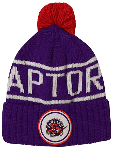 d819a5256dd Amazon.com : Mitchell & Ness Toronto Raptors Glow in The Dark Knit ...