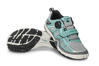 Topo Athletic Sante Training Shoe - Women's Turquoise/Grey 6