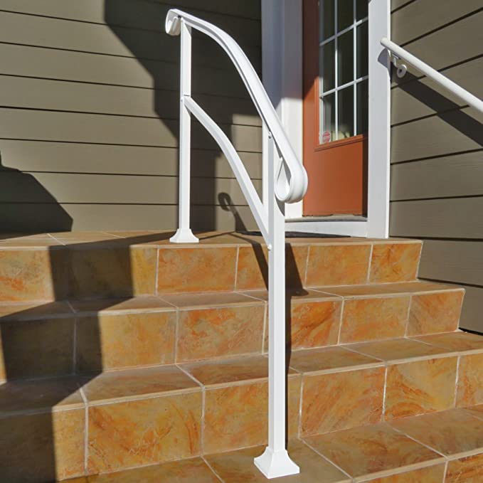 InstantRail 4-Step Adjustable Handrail (White)