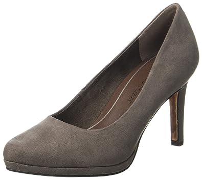Marco Tozzi 22401, Zapatos de Tacón Para Mujer, Marrón (Pepper), 40 EU