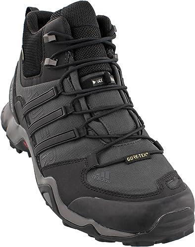 adidas Terrex Swift R2 GTX Hiking Shoes Black Dark Grey