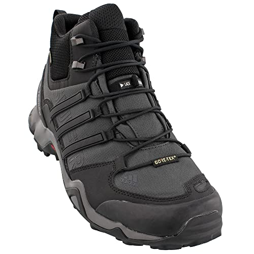 Image Unavailable. Image not available for. Color  Adidas Terrex Swift R  Mid GTX Boot Mens Hiking 8 Dark Grey-Black-Granite 5effd2458a8