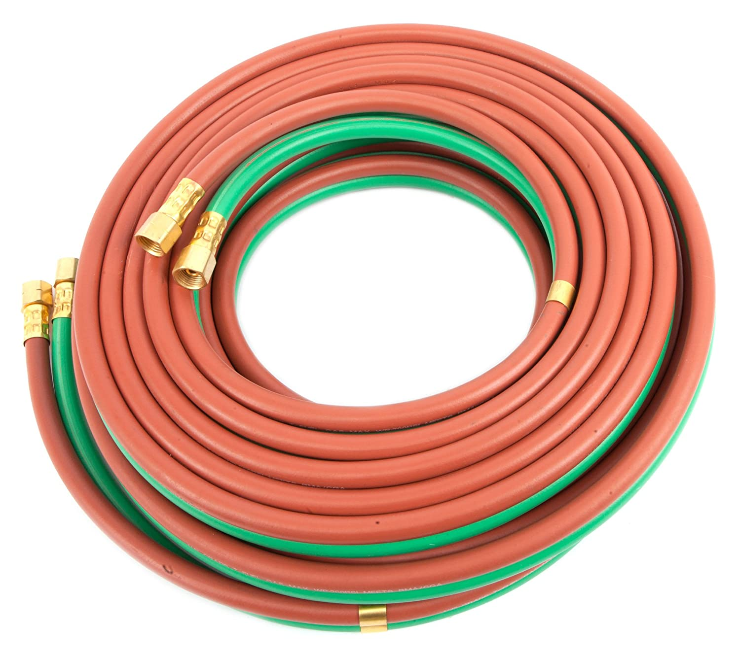 Forney 86165 Oxygen Acetylene Hose, T-Grade, 1/4-Inch by 50-Feet Forney Industries