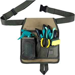 Garden Tool Belt,Gardening Apron with Pocket, Tool Pouch for Women Men Children