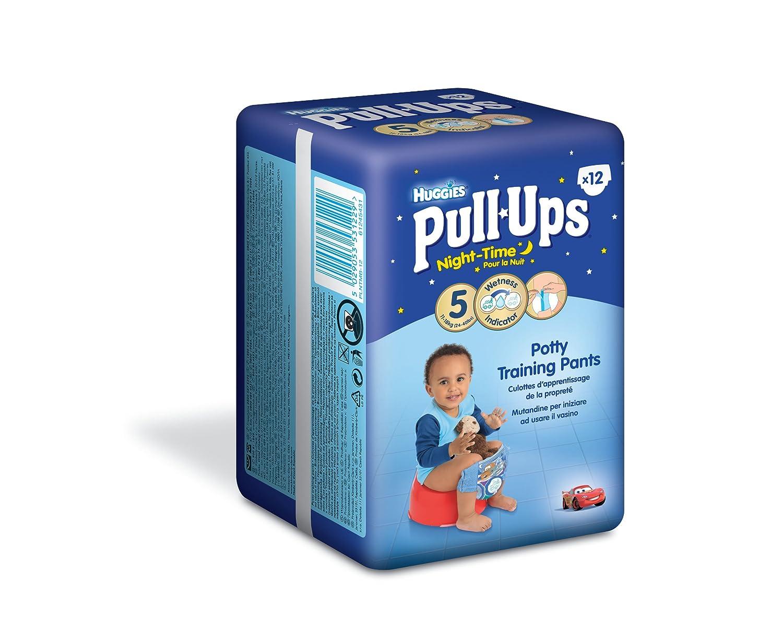 Huggies Pull Ups Nightime Potty Training Pants for Boys - Medium Kimberly-Clark TRTAZ11A