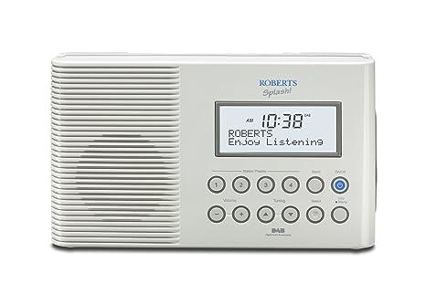 dc885372f7a6 Roberts Splash DAB FM RDS Digital All Weather Radio  Amazon.co.uk  TV