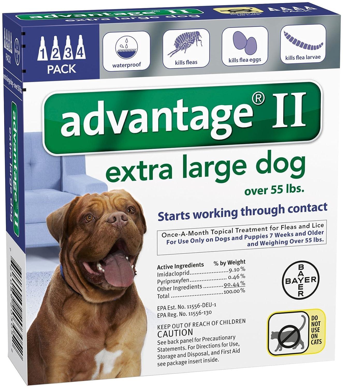 Bayer Animal Health Advantage II Extra Large Dog 4-Pack