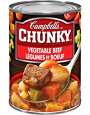 Campbell's Chunky Vegetable Beef Soup, 540ml
