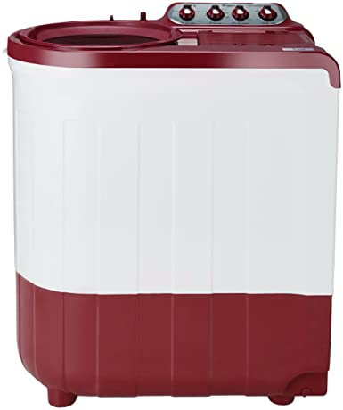 Whirlpool 7.5 kg 5 Star Semi-Automatic Top Loading Washing Machine (ACE SUPER SOAK 7.5, Coral Red, Supersoak Technology)