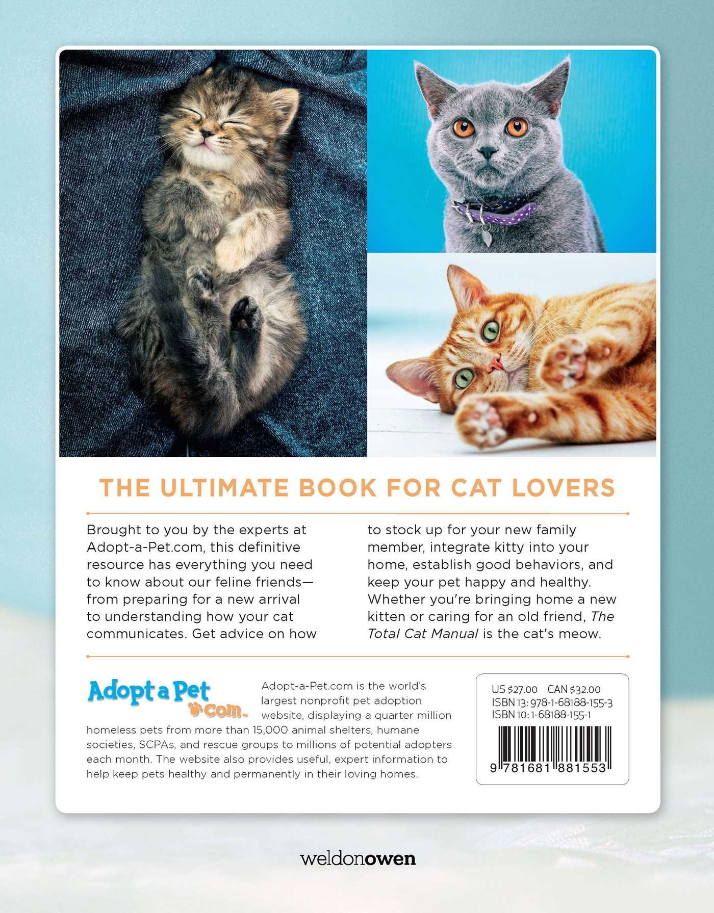 Amazon The Total Cat Manual Meet Love and Care for Your