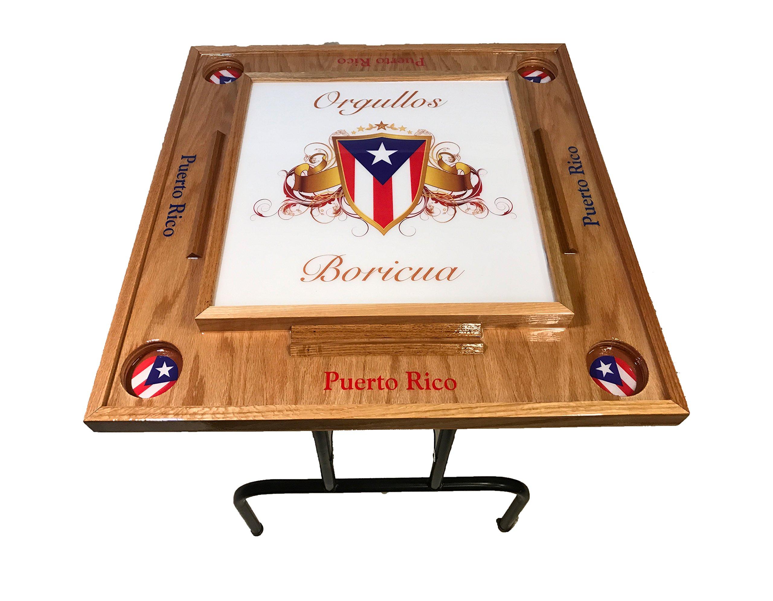Orgullo Boricua Domino Table