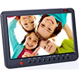 Portable HD TV with Freeview DVB-T2/DVB-T USB PVR TV Recorder with Timeshift 10.1inch small screen digital LCD