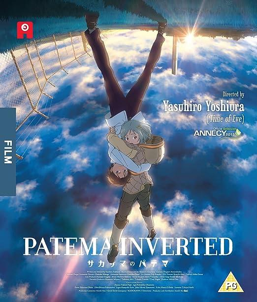 Patema Inverted - Standard Dual Format Blu-ray Reino Unido: Amazon.es: Yasuhiro Yoshiura: Cine y Series TV