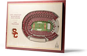 "YouTheFan NCAA 5-Layer 17"" x 13"" StadiumViews 3D Wall Art"