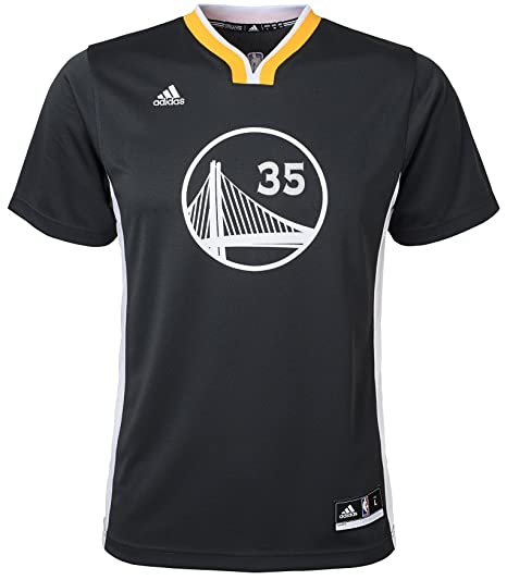 fa005e4b815 Adidas Boys' Kevin Durant Golden State Warriors #35 Youth Alternate Replica  Short Sleeve Jersey