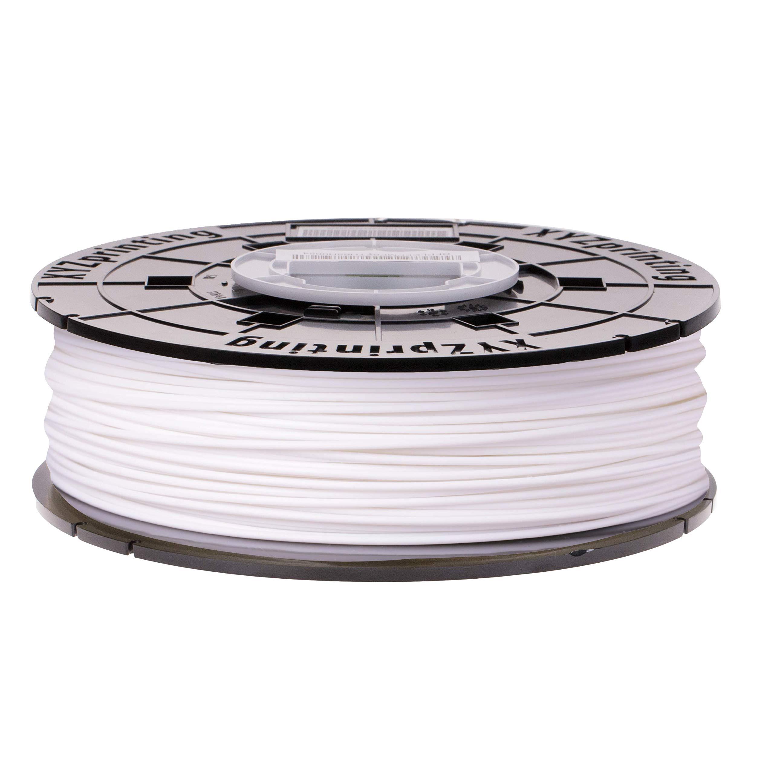 XYZprinting Tough PLA Refill Filament - White (NFC Style for da Vinci Nano, da Vinci Mini, da Vinci Jr, da Vinci Super Series) (White)