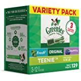 GREENIES 3-Flavor Variety Pack Dog Dental Chews Dog Treats