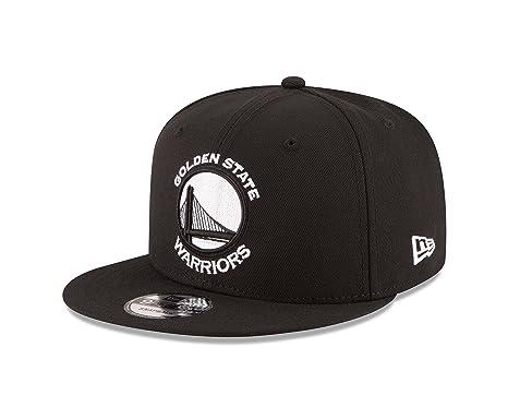 1d874654 Amazon.com : New Era NBA Golden State Warriors Men's 9Fifty Snapback Cap,  One Size, Black : Sports & Outdoors