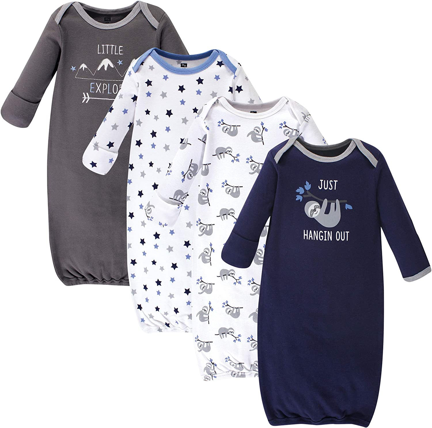 Hudson baby Baby-Boys Cotton Gowns Nightgown