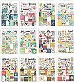 Carpe Diem Planner Essentials Seasons Sticker Tablet