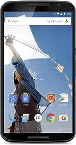 "Motorola Nexus 6 32GB GSM Unlocked Smartphone w/ Brilliant 6"" Screen & Dual Front-facing Stereo Speakers - Midnight Blue,International Version"