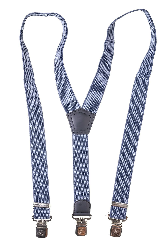 Shenky - Bretelle larghe - 3 clip - diversi colori BH001