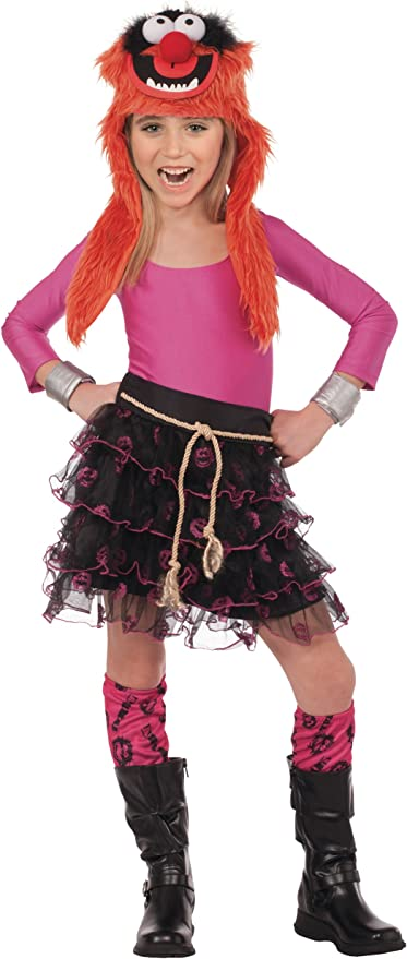 Muppets Animal Tutu Set Ladies Fancy Dress Disney Adults Teens Costume Accessory