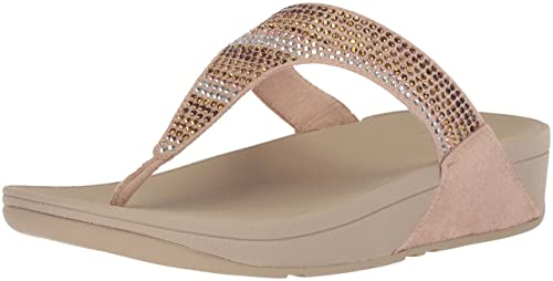 0c2596704f1a FitFlop Womens L93 Strobe Luxe Toe-Thong Sandals  Amazon.com.au  Fashion