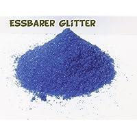 10 gramm Dunkel Blau Farben Lebensmittel Glitzer Glitter Essbar Essbarer Streusel Zucker Backen Dekorieren Candy
