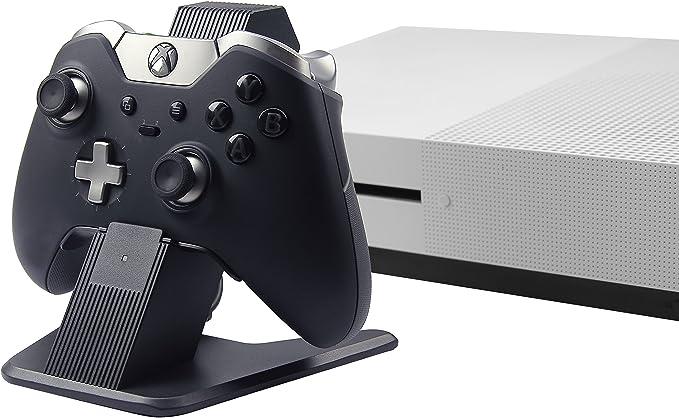 AmazonBasics - Soporte y cargador, de aluminio, para mandos de Xbox One, Xbox One S y Xbox One X, Negro: Amazon.es: Videojuegos