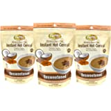 Instant Hot Cereal, Grain and Gluten-Free, Certified Paleo, Unsweetened, 14 Servings (3 Bags)