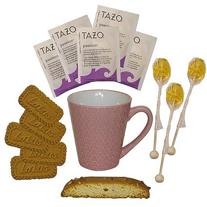 Set de regalo de té caliente en taza con bolsas de té de ...