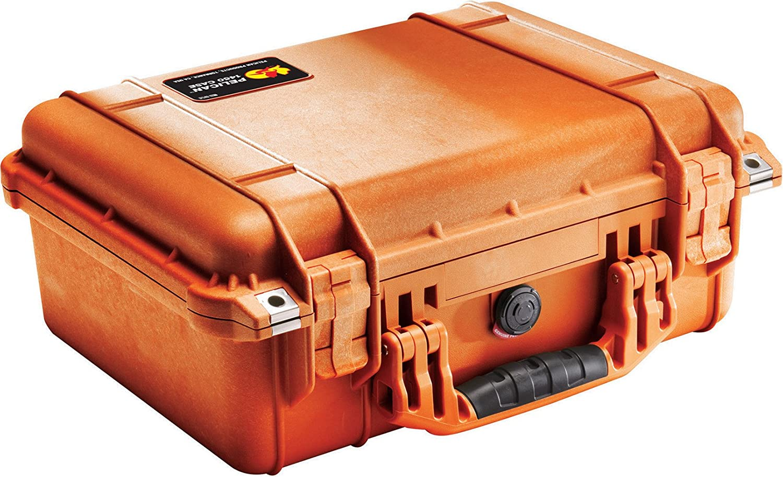 B00009XVL7 Pelican 1450 Case With Foam (Orange) 81qKzcXiPTL