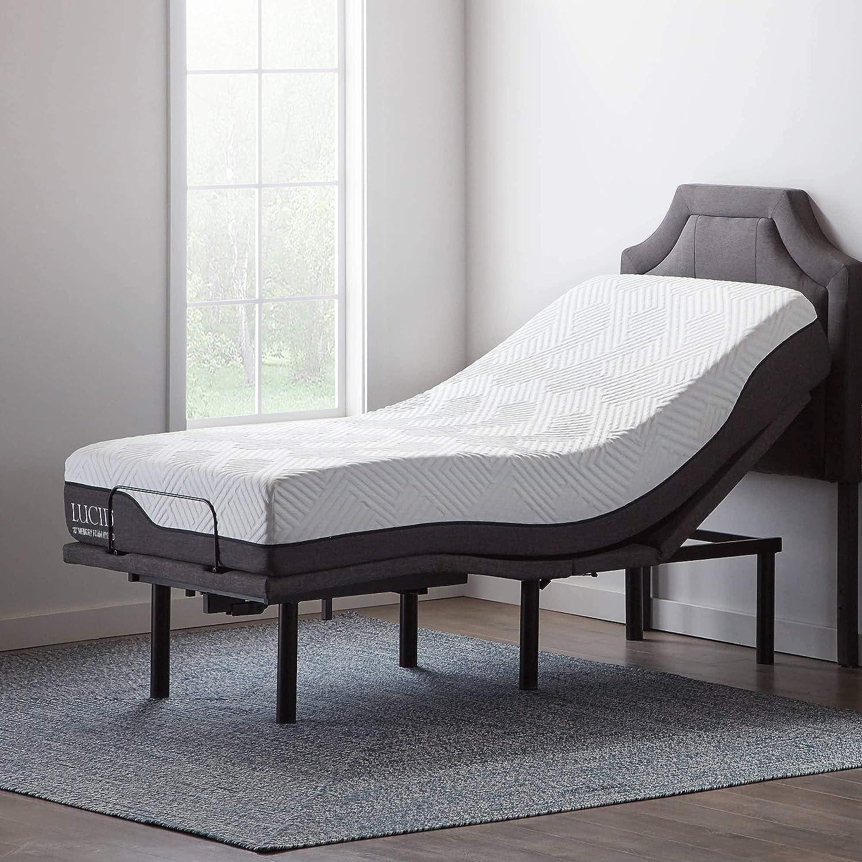 Amazon.com: Lucid L600 Adjustable Bed Base Frame   Bluetooth