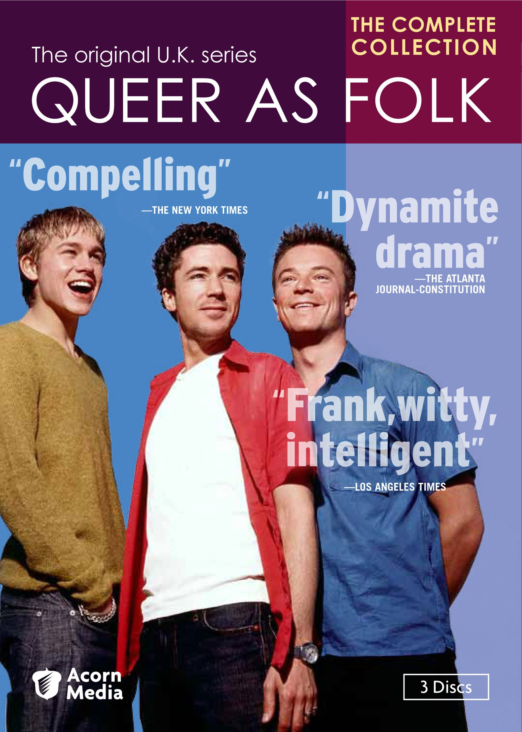 QUEER AS FOLK: THE COMPLETE U.K. COLLECTION by Acorn Media