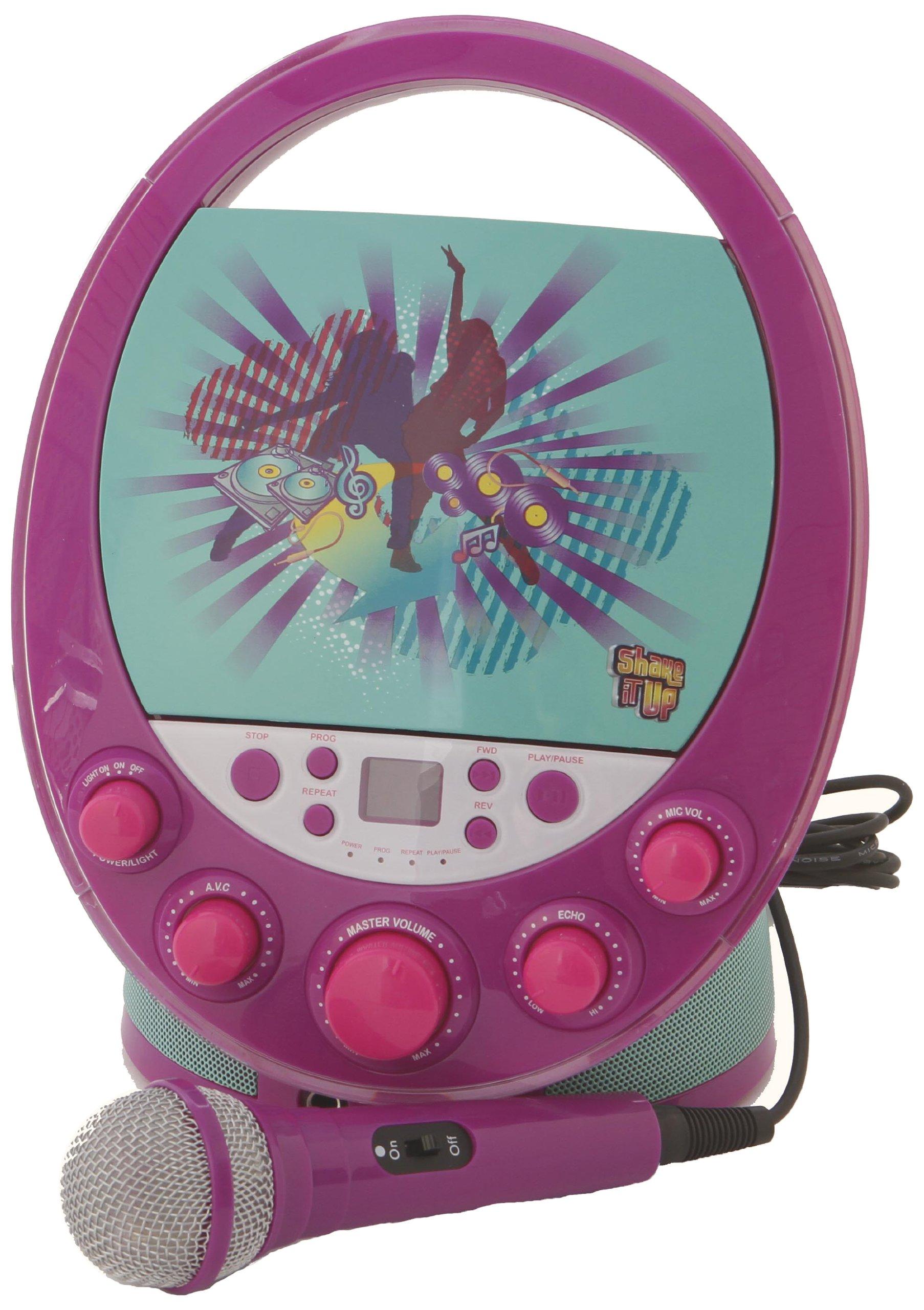 Karaoke System 66014 Shake it Up Karaoke Machine, Purple by Karaoke System (Image #1)