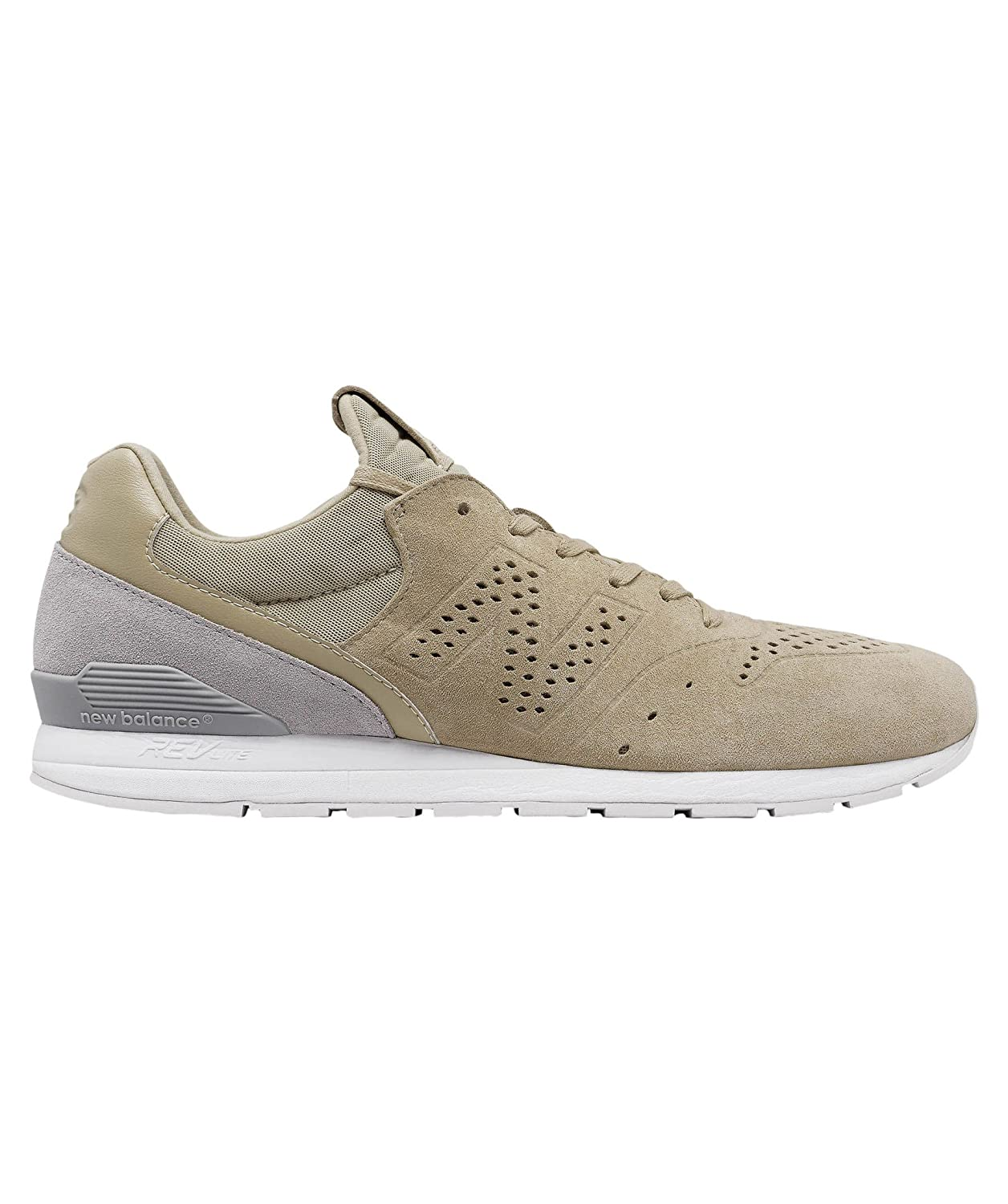 New Balance 996 Re-Engineered Sand Suede Trainers 45.5 EU|Natural