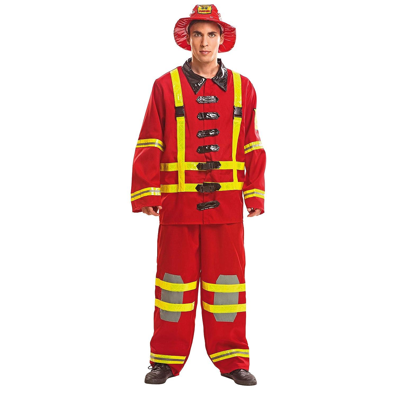 My Other Me Me - Disfraz de bombero para hombre 487257372e6