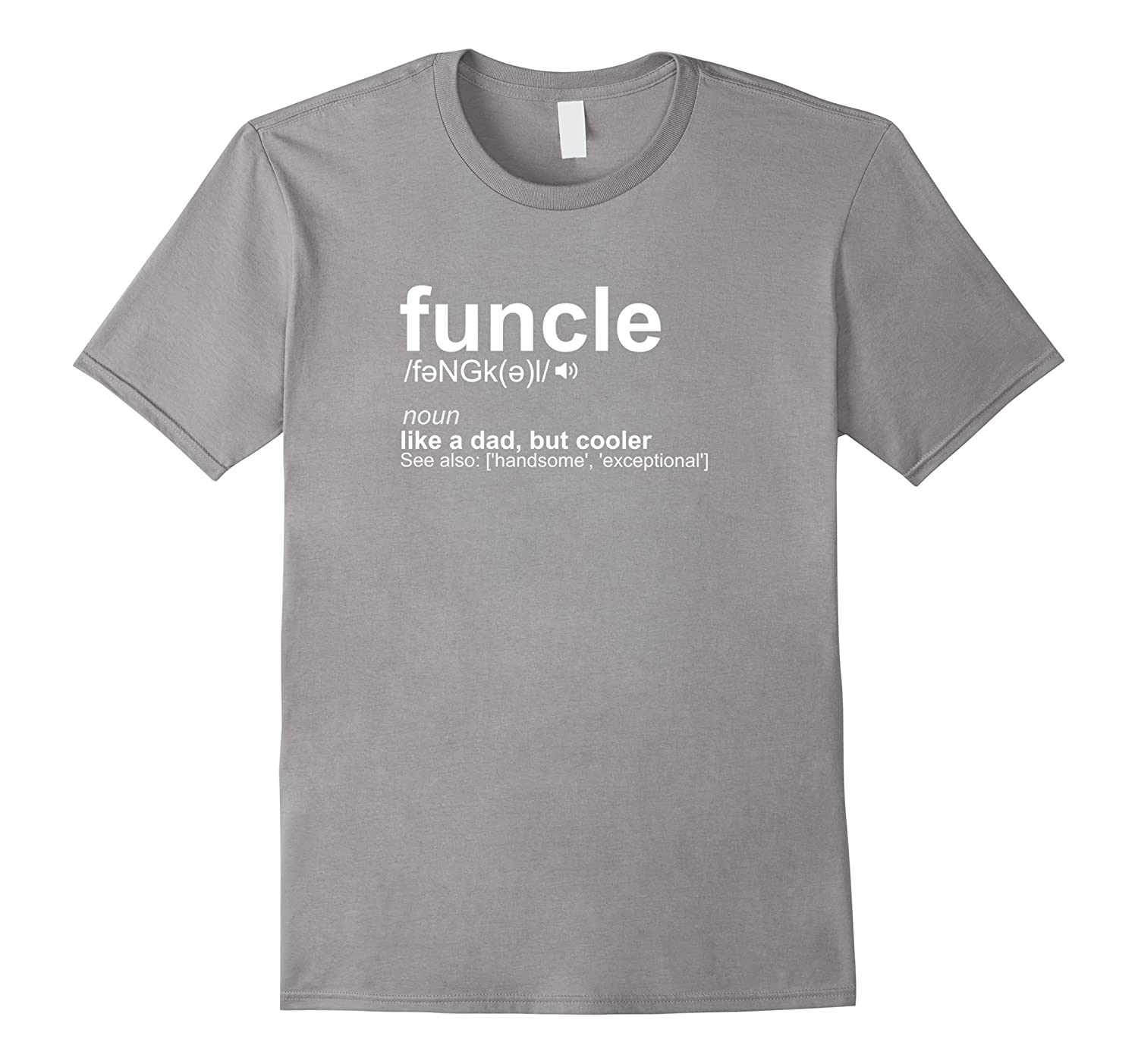 a48b3493c Mens Funcle Definition Uncle T-Shirt Funny Gift-CL – Colamaga