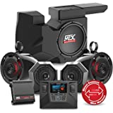 2014 to 2017 Polaris Polaris RZR XP1000 or 900 Four Speaker, Dual Amplifier, and Single Subwoofer Audio System By MTX Audio RZRSYSTEM3